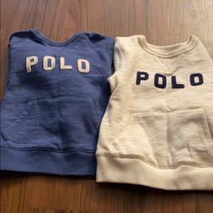 Polo sweatshirts
